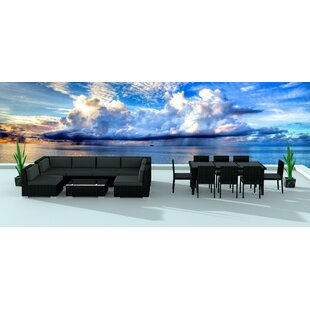 Dana 16 Piece Sectional Set with Cushions By Brayden Studio