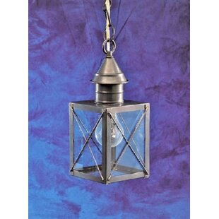 Price Check Cormorant 1-Light Outdoor Hanging Lantern By Breakwater Bay