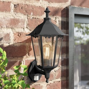 Sienna Outdoor Wall Lantern With Motion Sensor By Sol 72 Outdoor