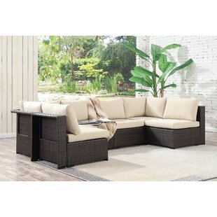 Alycia 6 Piece Sectional Set With Cushions
