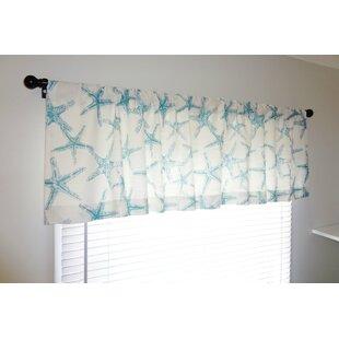 Nautical Ocean Starfish 52 Curtain Valance