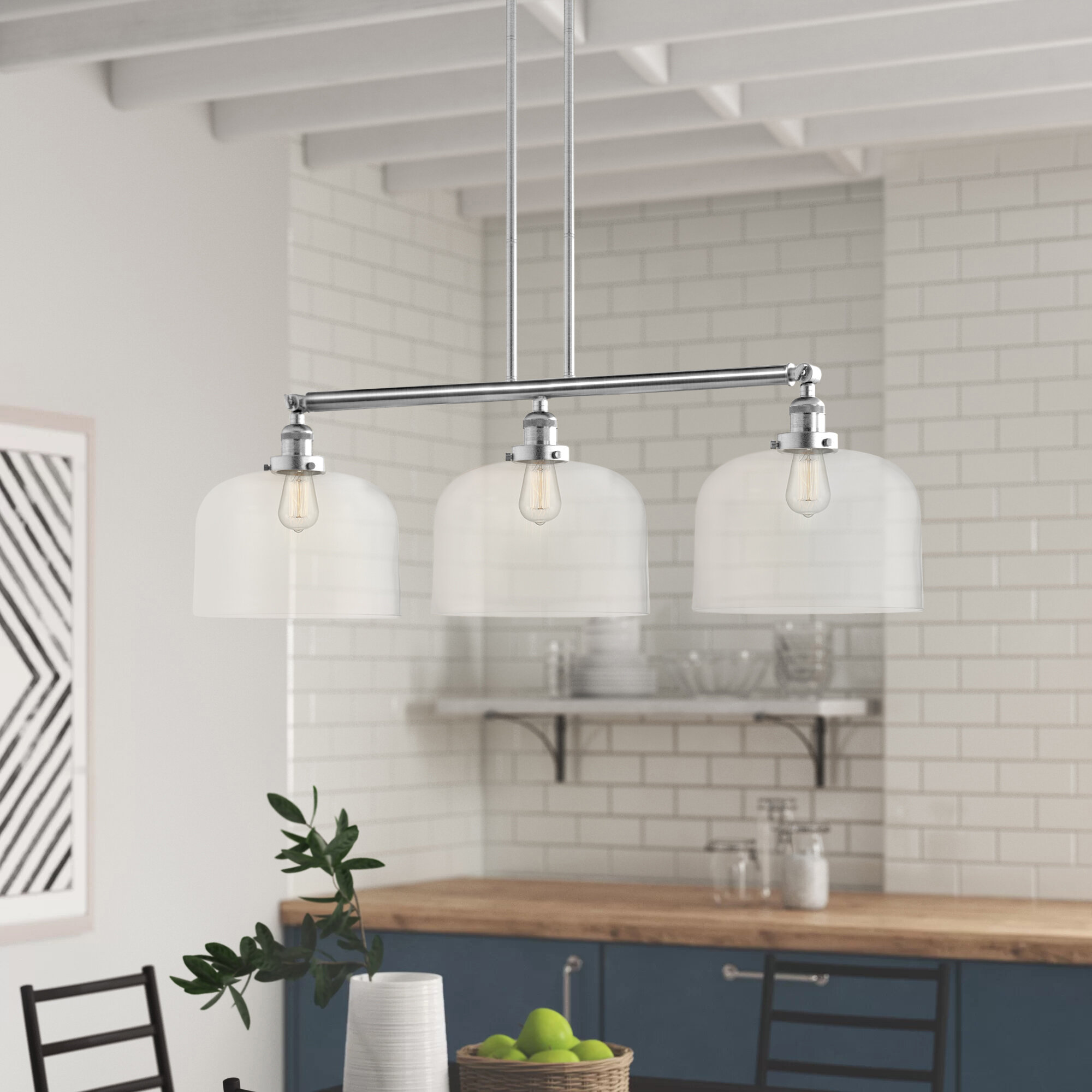 Wayfair Kitchen Island Linear Pendant Lighting You Ll Love In 2021
