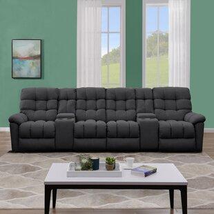 Mauston Tufted Reclining Sofa