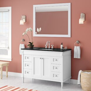 Savings Millfield 48 Single Vanity Set with Mirror By Andover Mills