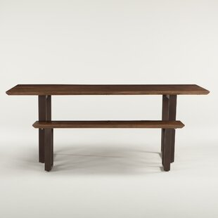 World Interiors Wood Bench