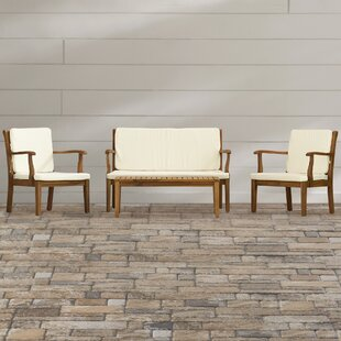 Cramlington 4 Piece Sofa Seating Group with Cushions by Three Posts