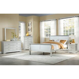 Fackler Twin Low Profile Storage Sleigh Bed