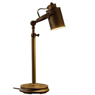 bronze desk lamps you ll love wayfair rh wayfair com bronze pharmacy desk lamp bronze desk lamp with leather shade