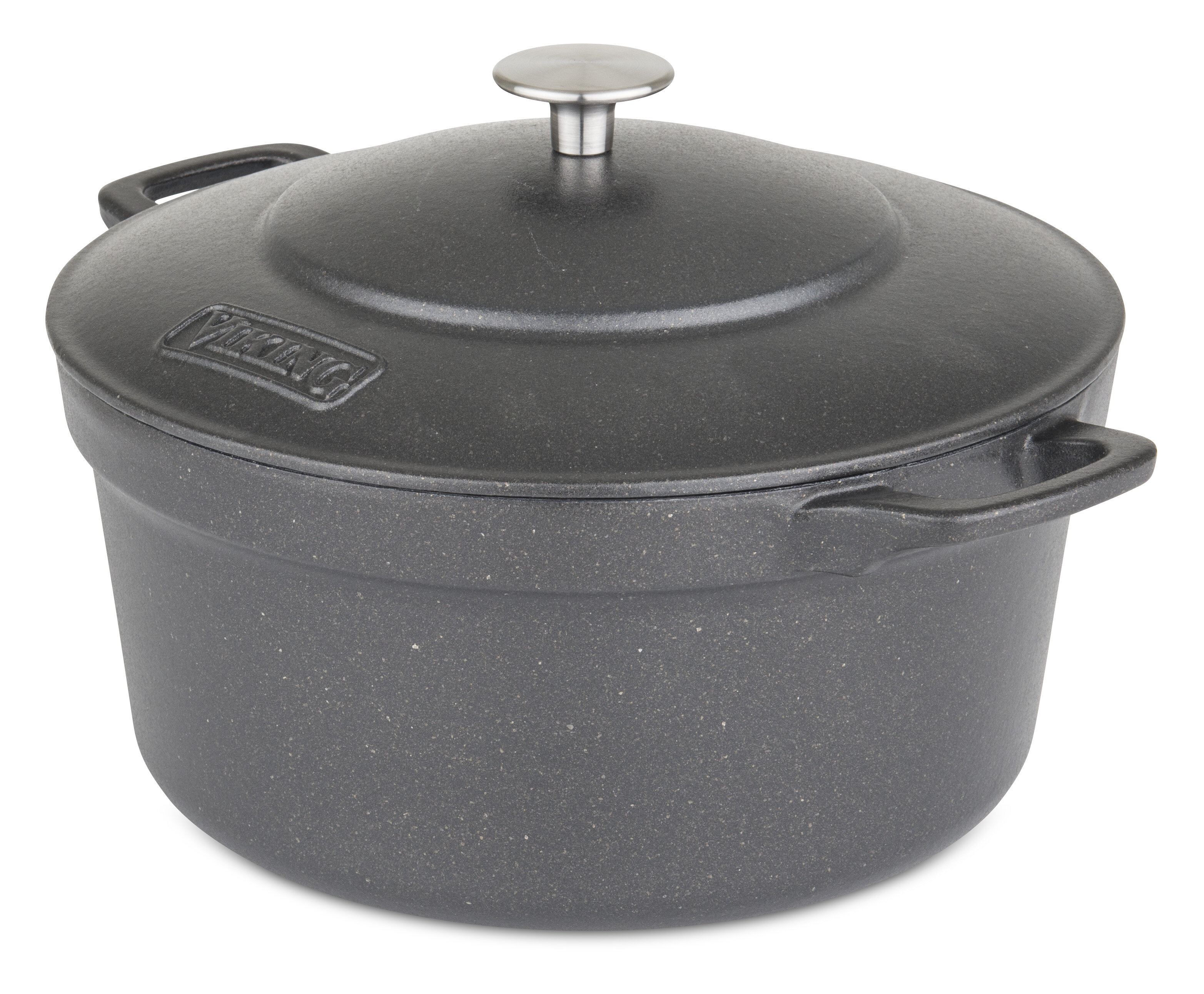 Viking Non Stick Cast Iron Round Dutch Oven Reviews Perigold