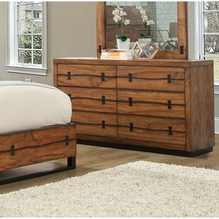 Loon Peak Ricker 6 Drawer Dresser