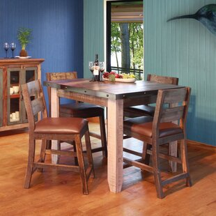 Delphine 5 Piece Pub Table Set