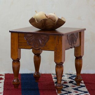 Seaway Nahuala Daisy Wood End Table