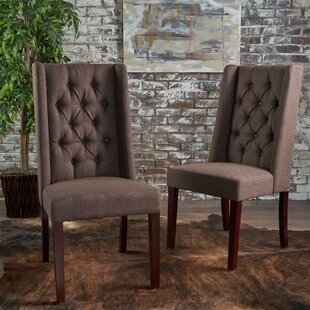 Toshia Upholstered Dining Chair (Set of 2) DarHome Co