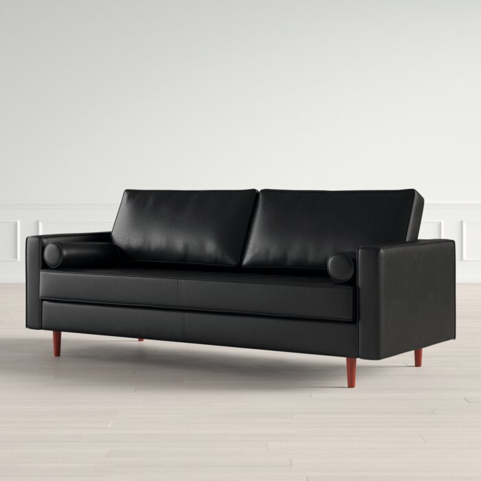 Bombay Leather Sofa