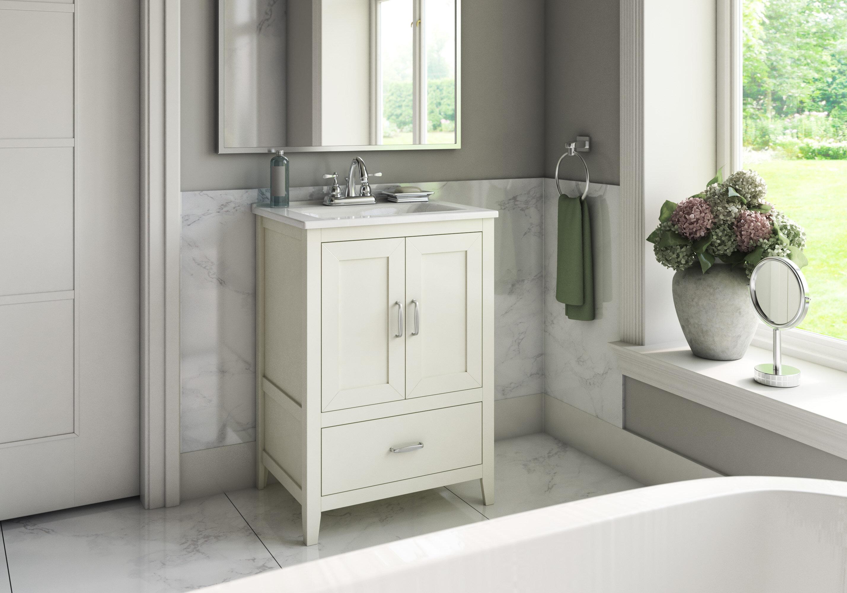 charlton home crist freestanding style 24 single sink bathroom rh wayfair com freestanding bathroom vanity units uk freestanding bathroom vanity units uk