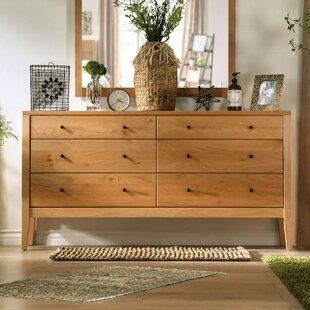 Bussey 6 Drawer Double Dresser by Foundry Select