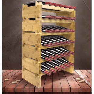36 Bottle Floor Wine Rack by Sorbus