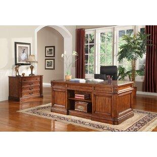 Find Gunnersbury 2 Piece Desk Office Suite ByAstoria Grand