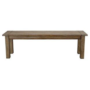 Elland Driftwood Wood Bench by Highland D..