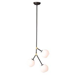 Mercury Row Doolin 3-Light Chandelier