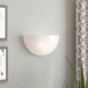 Affordable Price Abingdon 1-Light Wall Sconce By Ebern Designs