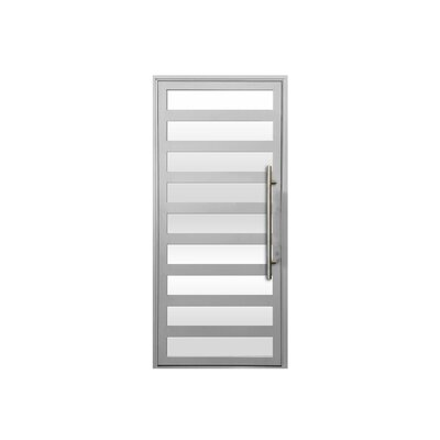 Maya Standard Jamb Finished Prehung Front Entry Door Cbwwindowsanddoors Door Handing Left Hand Inswing Door Size 84 H X 36 W X 263 D Finish W