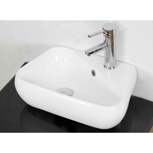 Price Check Ceramic Specialty Bathroom Sink with Faucet and Overflow By American Imaginations