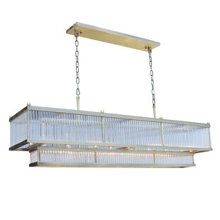 Everly Quinn Sibyl 8-Light Kitchen Island Pendant