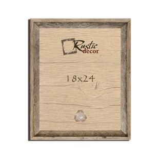 Barn Wood Reclaimed Wooden Signature Wall Picture Frame. By Rustic Decor