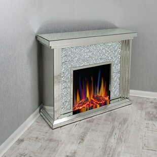 Marquez Electric Fire Suite By Rosdorf Park