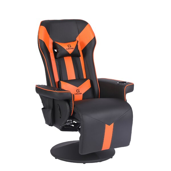 clihome Video Gaming Recliner Chair With Bluetooth Speakers