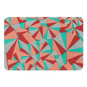 Marsala Pattern by Danny Ivan Bath Mat