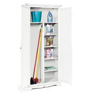 Free Standing Broom Cupboard Wayfair
