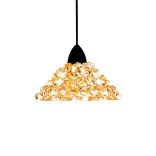 Giselle Monopoint 1-Light Cone Pendant by WAC Lighting