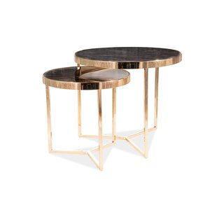 Emerick 2 Piece Coffee Table Set By Fairmont Park