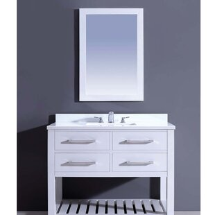 Bohemian 42 Single Vanity Set With Mirror