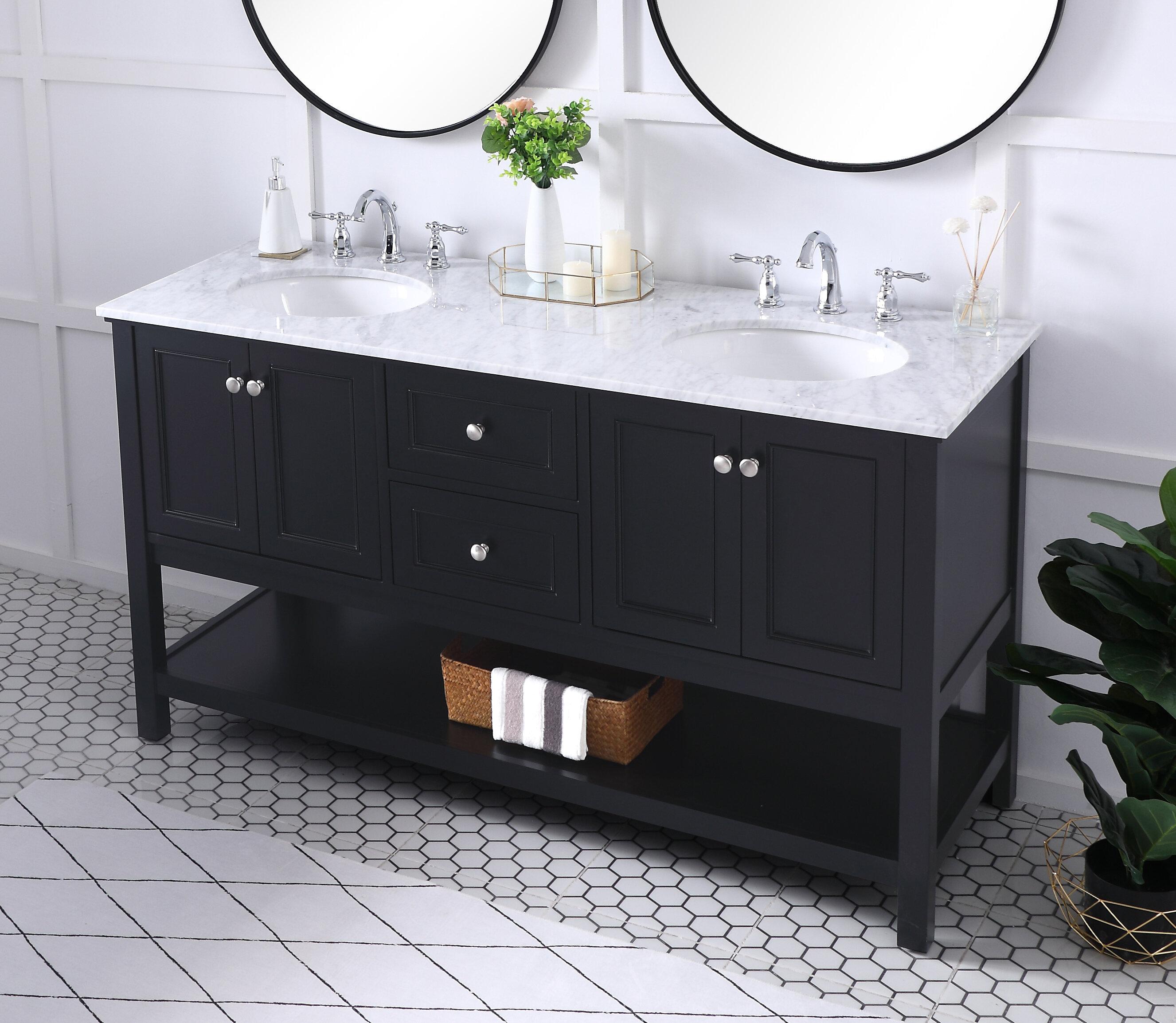 Black Bathroom Vanities Free Shipping Over 35 Wayfair
