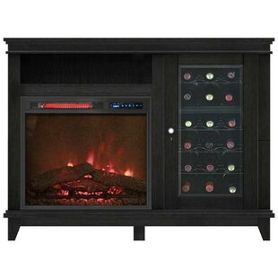 Horacia Infrared Media Electric Fireplace