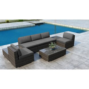 Find the perfect Gilleland 8 Piece Sectional Set with Sunbrella Cushion Great Price