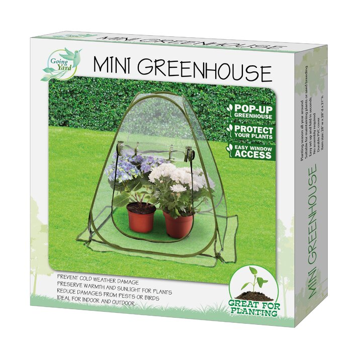Going Yard Mini Pop-Up Greenhouse