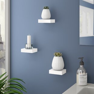 Compare prices Backer 3 Piece Wall Shelf Set By Orren Ellis
