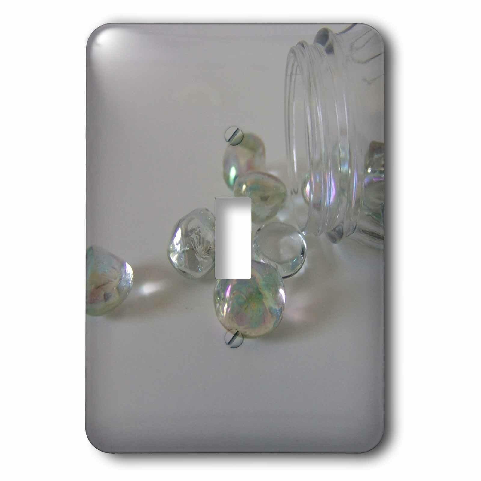 3drose Crystal Rainbow 1 Gang Toggle Light Switch Wall Plate Wayfair