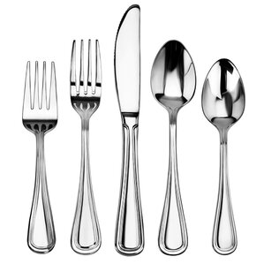 harville 60 piece stainless steel flatware set