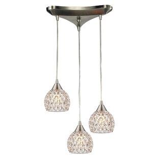 House of Hampton Ventnor 3-Light Pendant