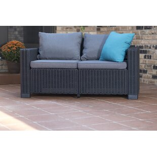 Brayden Studio Stallcup Loveseat with Cushions