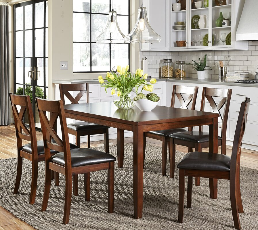 nadine 7 piece dining set. Interior Design Ideas. Home Design Ideas
