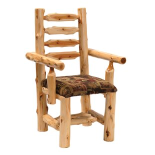 Fireside Lodge Cedar Arm Chair