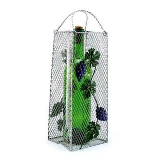 Gift Bag, Grapes 1 Bottle Tabletop Wine R..