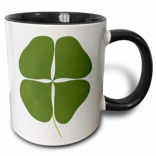 Shamrock Four Leaf Clover Coffee Mug