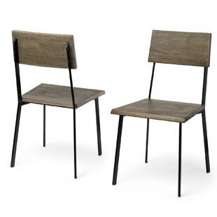 Kelli Solid Wood Dining Chair (Set Of 2) by 17 Stories Cool